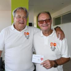 Dvě ragbyové legendy Jaromír Kourek a Václav Horáček