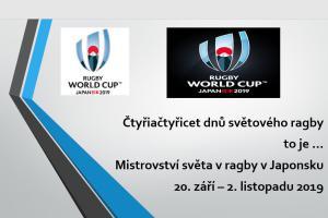 Čtvrtfinalová úžasná utkání na MS v ragby komentuje legenda českého ragby Eduard Krützner