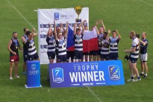 Ragbyové týmy žen i mužů Česka vyhrály v Zahřebu skupinu Trophy evropského šampionátu