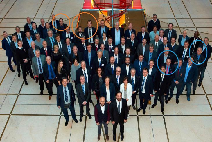 Na Kongresu Rugby Europe v Paříži  bylo konstatováno, že ragbyová Evropa má málo peněz