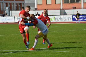 Portugalci vstoupili do evropské trophy s osmi pětkami, s kterými porazili Polsko 65:5