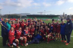 České ragbistky vybojovaly historické vítězství nad Švýcarkami