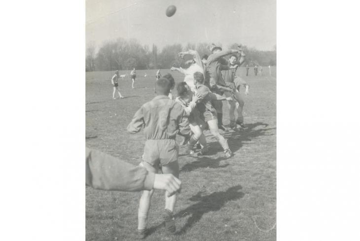 Historie českého ragby padesátá léta (1950 - 1959)