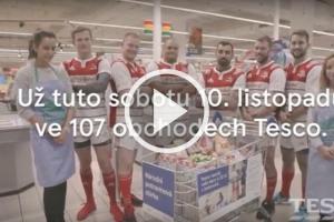 Výzva ragbistům – Národní potravinová sbírka – pojďme do toho spolu se společností Tesco !