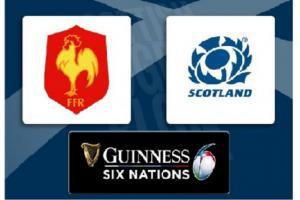 Dohrávané utkání šesti národů Francie - Skotsko určí vítěze Poháru. Ve hře je Francie a Wales
