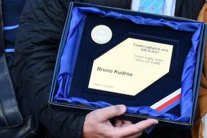Do  Síně slávy Českého ragby vstoupil jako čtvrtý Ragbista  Bruno Kudrna