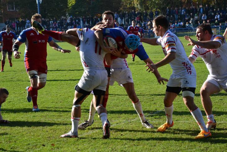 České ragbisty čeká v Praze na Markétě ve skupině ME důležité utkání se Švýcarskem