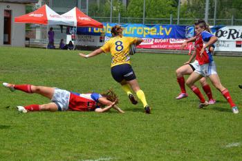 Na mistrovství Evropy v sedmičkách se Češkám podařilo probojovat mezi osm nejlepších