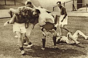 Před rugbyovou sezonou v roce 1927 v Praze
