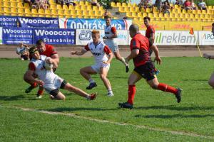 Čeští ragbisté uzavřeli zápasy ve druhé divizi vítězstvím nad Moldavskem 35:21