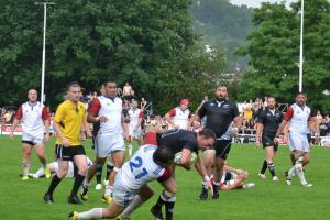 Třetí bitva českých ragbistů s New Zealand Ambassador´s XV pod Strahovem na Tatře Smíchov