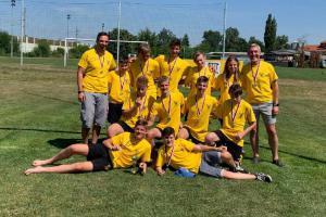 Olympijské sedmičky U14 vyhráli mladí ragbisté a jedna ragbistka z RC Praga