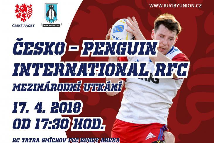 V Praze se představí po 19 letech znovu Penguin RFC, kteří nastoupí proti Česku