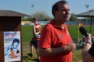 Ragbyová unie odvolala sportovního ředitele a trenéra reprezentace  Phila Pretoriuse