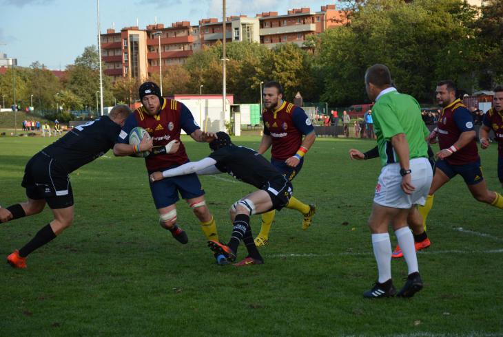 Po derby Sparta - Tatra 29:12 se ví, že vítěz derby vyhrál  i základní část ragbyové  ligy