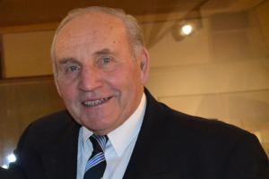 Pětaosmdesátiletý bard ragby Eduard Krützner alias Medák 64 let ve službách ragbyového míče
