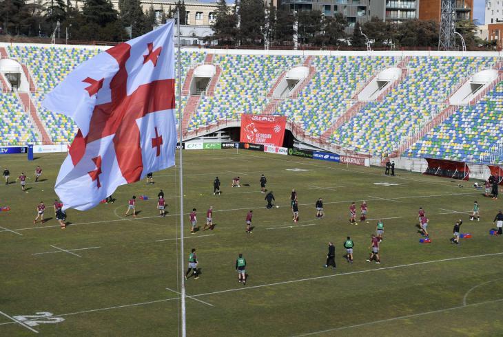 Ragbisté Gruzie vyhráli čtyři  utkání Championatu Rugby Europe a už nyní jsou mistry