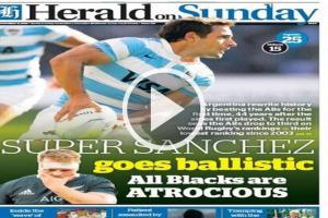 Výsledek ze soutěže Tri Nations způsobil šok pro ragbyový svět. Argentina - Nový Zéland 25:15