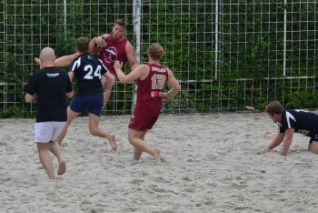 Ragbisté z klubu Sparty Praha počtvrté v řadě vyhráli Prague Beach Rugby 5s