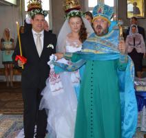 Havířovský ragbista hrající za Oyonnax Lukáš Rapant se oženil na Zakarpatské Ukrajině