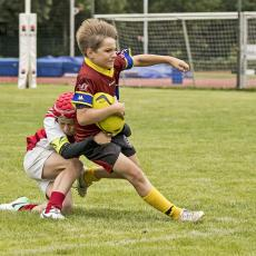 Derby mezi ragbisty Sparty a Slavie se hraje naplno a jedno v jaké kategorii