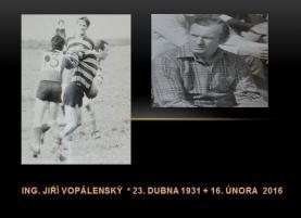 Smutná zpráva ... zemřel Jiří Vopálenský